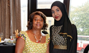 Fahma Mohamed at Women of the Year Lunch at the InterContinental Park Lane hotel