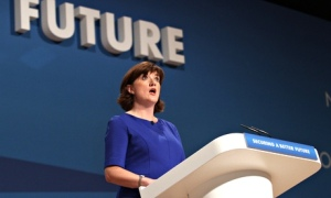 Nicky Morgan at Conservative conference
